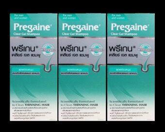 Pregaine Clear Gel Shampoo 200 ml/ขวด (3 ขวด)