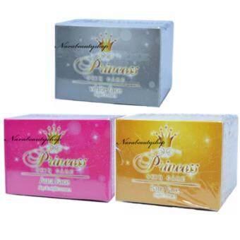 Princess Skin Care ครีมหน้าขาว + ครีมหน้าเงา + ครีมหน้าเด็ก ขนาด 20g ( 1 Set )