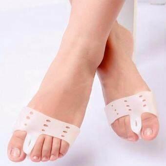 ซื้อ/ขาย แผ่นซิลิโคนกันนิ้วคด+รองจมูกเท้าสีขาว