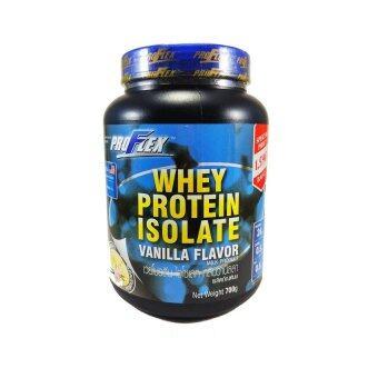 Proflex whey protein Isolate Vanilla flavor โปรเฟล็ต เวย์โปรตีน ไอโซเลท กลิ่นวนิลลา 700 g x 1 Box