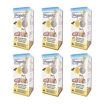 Propoliz Mouth Washโพรโพลิช เมาท์ วอสท์ 150ml/กล่อง(6กล่อง)