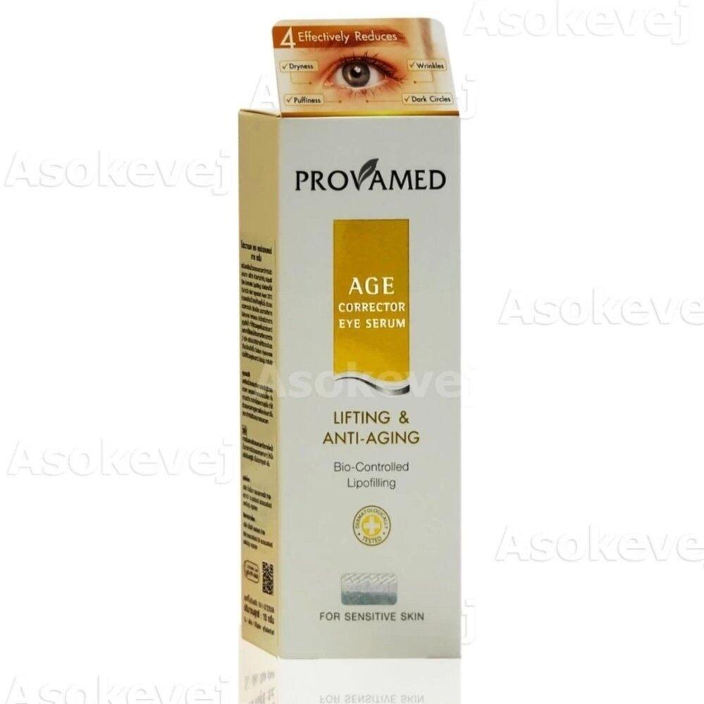Provamed AGE corrector eye serum เซรั่มลดเลือนริ้วรอยรอบดวงตา 15 g 1 หลอด