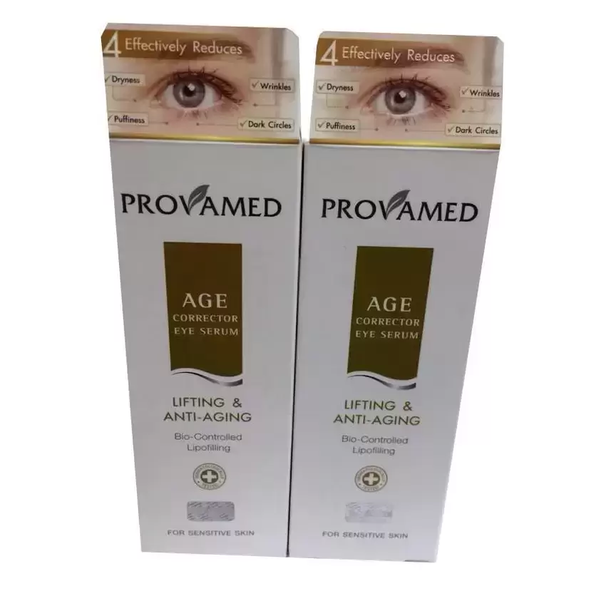 Provamed Age Corrector Eye serum 15ml 2หลอด