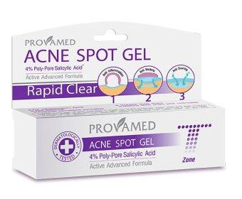 Provamed Rapid Clear Acne Spot Gel 10G