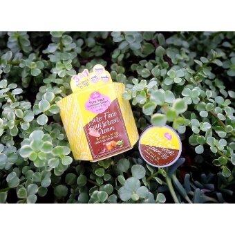 Pure Face Sunscreen Cream UVA/UVB SPF50 PA++ ครีมกันแดดหน้าเพียวเฟส by Jellys 10 ml. สินค้าขายดี
