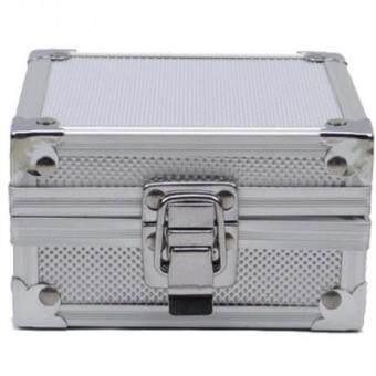 ซื้อ/ขาย Raptor กล่องเครื่องสักลายสีเงิน กล่องเก็บเครื่องสักลาย กล่องใส่เครื่องสักลาย กระเป๋าใส่เครื่องสักลาย Professional Aluminum Tattoo Machine Gun Travel Case