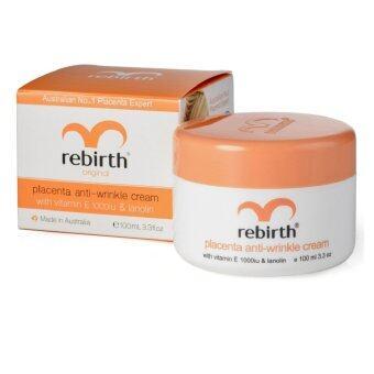Rebirth Placenta Anti-Wrinkle Cream with Vitamin E and Lanolin (Original) 100 ml.