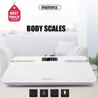 REMAX เครื่องชั่งนํ้าหนักดิจิตอลเพื่อสุขภาพ Body Scales RT-S1