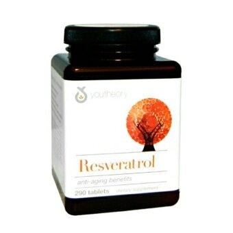 Resveratrol ชะลอวัย ต้านอนุมูลอิสระ ส่งเสริมการไหลเวียนโลหิต บำรุงหลอดเลือดและหัวใจ ลดคอเลสเตอรอล (Youtheory)