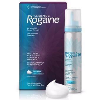 Rogaine ยาปลูกผมสำหรับผู้หญิงชนิดโฟม Minoxidil 5% Foam แพคกล่อง 2 ขวด