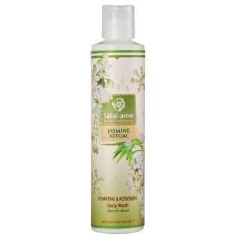 Sabai Arom Jasmine Ritual Body Wash 200 ml. สบายอารมณ์ จัสมิน ริชวล บอดี้ วอช เจลอาบน้ำ กลิ่นมะลิ 200 มล.