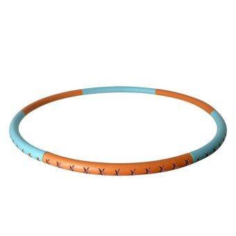 SAFSOF ห่วงฮูล่าฮูปหุ้มยาง ถอดประกอบได้ รุ่น AHL-24(B)-Z (สีฟ้า/ส้ม)
