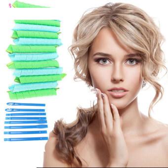 Salon 18pcs 55cm Hair Curlers Magic Leverag Hair Roller HairStyling Tool Set