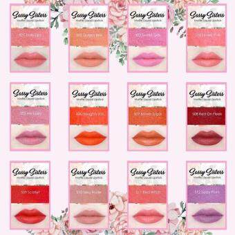 Sassy Sisters Matte Liquid Lipstick #S12 Sassy plum - 3
