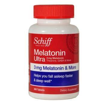 Schiff Melatonin Ultra 3mg Melatonin & More (365 Tablets)