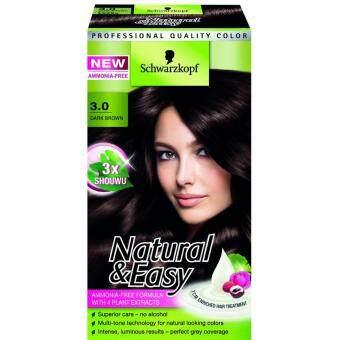 Schwarzkopf Natural&Easy No.3.0 DARK BROWN