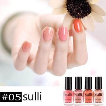 Set สีทาเล็บ Sulli 4 ขวด 6ml. #05