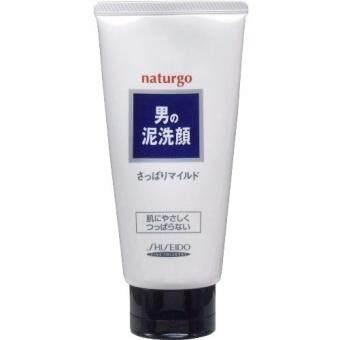 รีวิวพันทิป shiseido NATURGO MEN'S Facial Cleansing Foam White ใบหน้าคลีนซิ่งโฟม