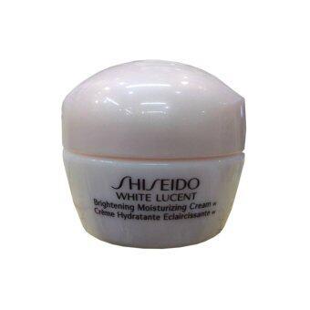 Shiseido White Lucent Brightening Moisturizing Cream Wผิวหน้าดูอ่อนเยาว์10 ml. (1กระปุก)
