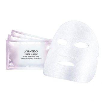 Shiseido White Lucent Power Brightening Mask แพ็ค 3 ชิ้น