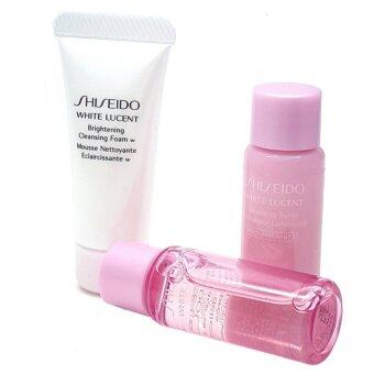 Shiseido White Lucent set 3 Pcs.( ขนาดทดลอง)