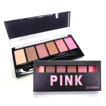 Harga Sivanna Colors 6 Color Eyeshadow Palette (Pink)
