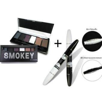 ประกาศขาย Sivanna Eye catching 2step mascara+Eyeshadow Palette (Smokey)มาสคร่าพร้อมอาแชโดว์ เซตคู่เพิ่มเสน่ห์ให้ดวงตา