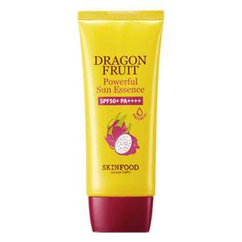 Harga SkinFood Dragon Fruit Powerful Sun Essence SPF50+ PA++++ 50ml กันแดดแก้วมังกร
