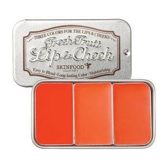 SkinFood Fresh Fruit Lip & Cheek Trio 7.5g # 1 Orange