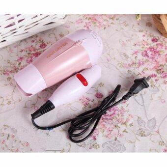 Small Target hair dryerไดร์เป่าผม ด้ามจับแบบพับเก็บได้1000Wรุ่นMJ-001001 (Pink)(Pink)