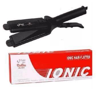 SUPER V INTER เครื่องรีดผม Ionic Hair-Flatter Dee Dee รุ่น SU 389