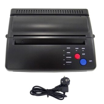 โปรโมชั่นพิเศษ Tattoo Transfer Copier Printer Machine Thermal Stencil Maker EU Plug black - intl