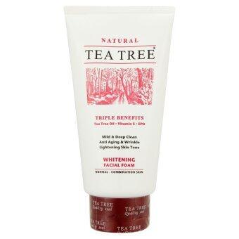 TEA TREE  ไวท์เทนนิ่งโฟม 4.8ออนซ์
