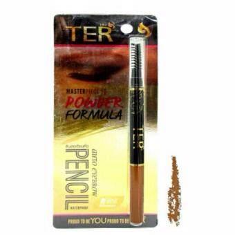เปรียบเทียบราคา TER ดินสอเขียนคิ้ว เฑอ ออโต้ ดินสอเขียนคิ้วกันน้ำ (01-สีน้ำตาลทอง)