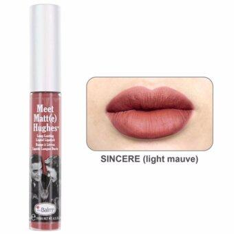 The Balm Meet Matte HughesLong Lasting Liquid Lipsti สี Sincere 7.4 ml