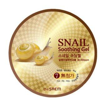 The Saem Snail Soothing Gel 300ml.