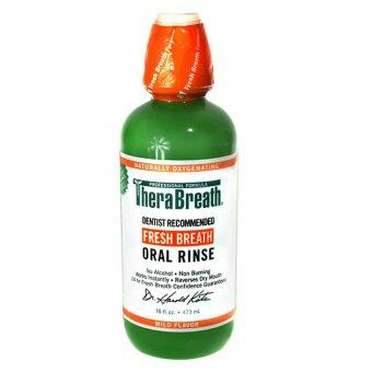 TheraBreath Oral Rinse 473ml.