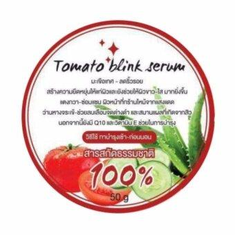 Tomato blink serum โทเมโท บริ้ง เซรั่ม เจลบำรุงผิวมะเขือเทศ ทาหน้า ทาตัว 2 IN 1 (1 กระปุก )