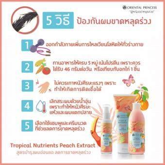 Tropical Nutrients Peach Treatment Shampoo & Tropical Nutrients Peach Hair Treatment - 2