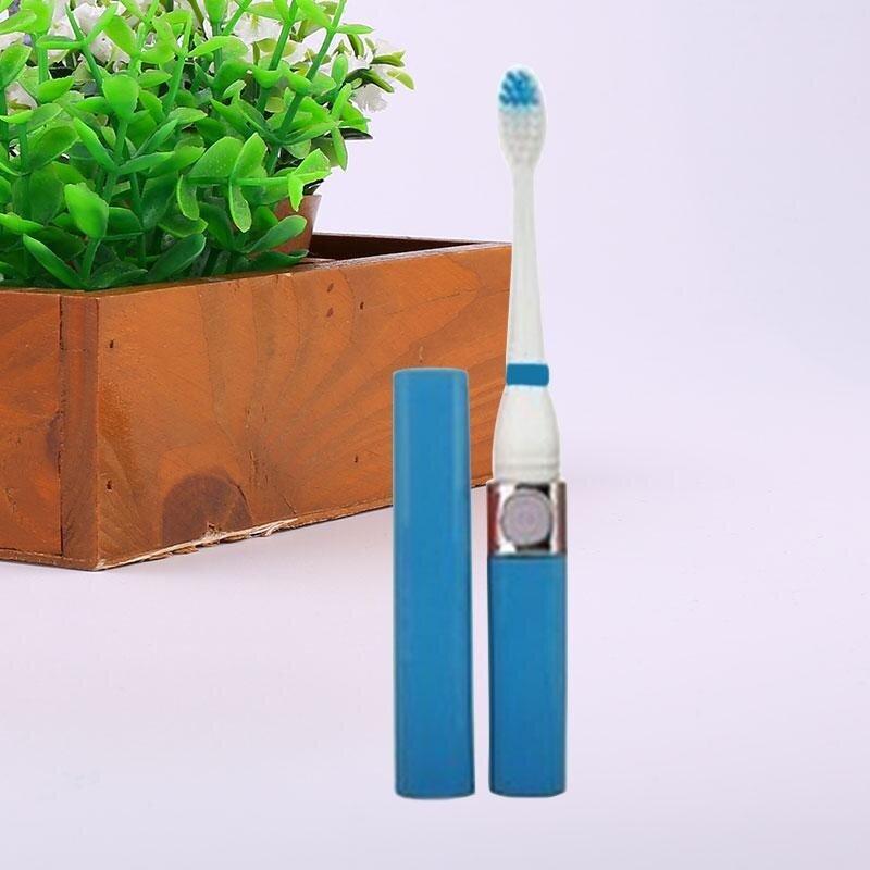 แปรงสีฟันไฟฟ้า ทำความสะอาดทุกซี่ฟันอย่างหมดจด ระยอง Ultrasonic Soft Waterproof Precision Vitality Sound Waves Electric Toothbrush   intl