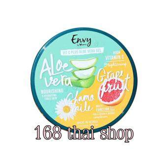 Verena Envy Vit C Plus Aloe Vera Gel ผลิตภัณฑ์บำรุงผิวหน้า เจลว่านหางจระเข้ 300 ml.