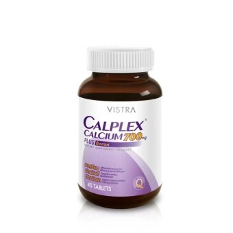 VISTRA Calplex Calcium 700 mg Plus Boron (45 Tablets)