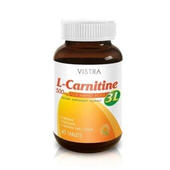 ต้องการขาย ผลิตภัณฑ์เสริมอาหาร VISTRA L-Carnitine In addition 3L (60 Tablets)