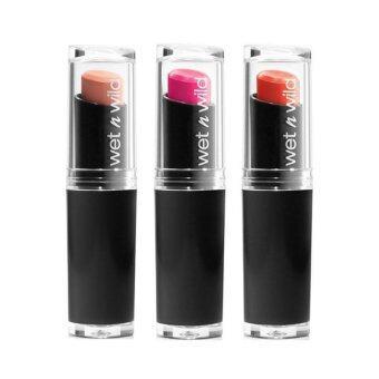 อยากขาย Wet N Wild Lipstickลิปสติก เนื้อแมทท์(แพ็ค3) #900 #966 #969