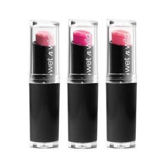ประกาศขาย Wet N Wild Lipstickลิปสติก เนื้อแมทท์(แพ็ค3) #901 #966 #968