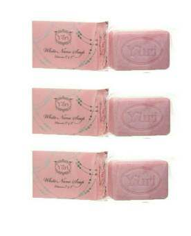 ลดราคา Yuri White Nano Soap สบู่ ยูริ ไวท์ นาโน 100 กรัม ( 3 ก้อน )