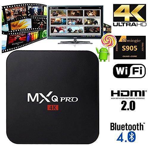 ซื้อที่ไหน  ชลบุรี Android Smart TV Box MXq Pro 4K Android 7 4k ดูบอลฟรี+กีฬาฟรี+ หนังฟรี +ซีรีย์ฟรี+ทีวีดิจิตอลฟรี