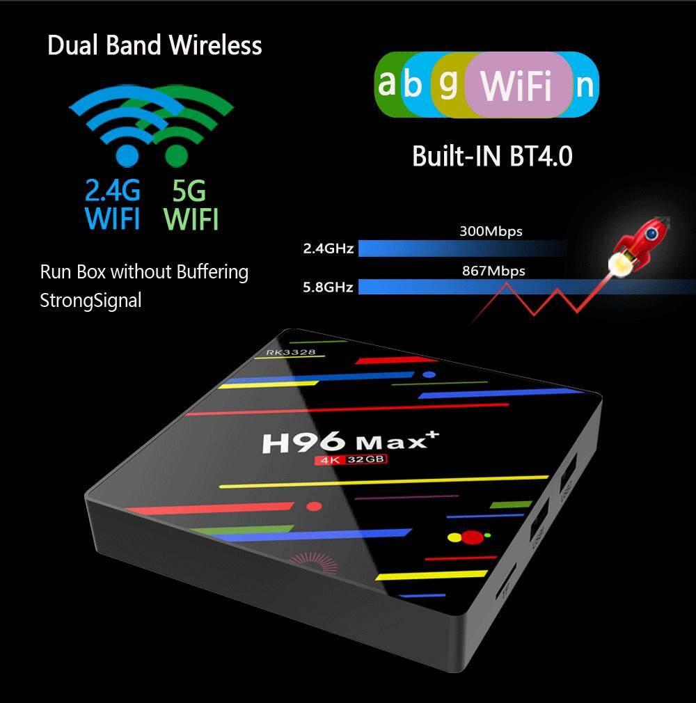 บัตรเครดิตซิตี้แบงก์ รีวอร์ด  ประจวบคีรีขันธ์ 2019 กล่องทีวีใหม่ [H96 MAX Plus]Smart TV BOX WIFI RK3328 เครื่องเล่นสื่อ H96 MAX + พร้อมส่ง จากประเทศไทย 4G + 32G Android 8.1 quad-core 4K 2.4WiFi