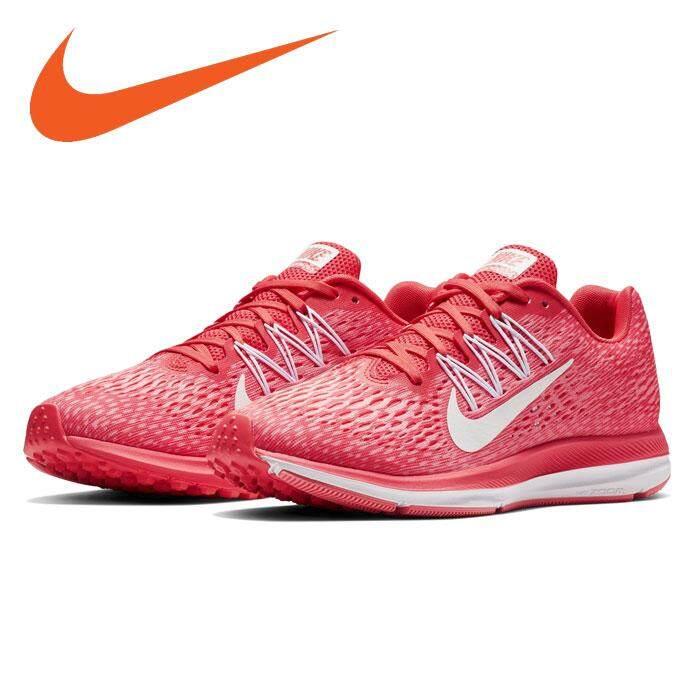ยี่ห้อไหนดี  นครปฐม Nike รองเท้า วิ่ง หญิง ไนกี้ Air Zoom Winflo รุ่นยอดฮิตนักกีฬา นุ่มเบา สบายเท้า รับแรงกระแทกดีเยี่ยม ของแท้ 100% ส่งไวด้วย kerry!!!!