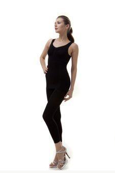 Swans Taping Top รุ่น Slimming (Black)